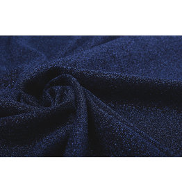 Lurex Tanz Marine Blau