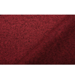 Gebreide Fleece Rood