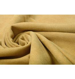 Rib Fabric 16 W Ocher Yellow