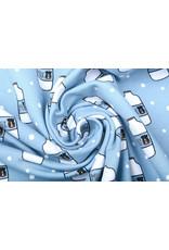 Stenzo Cotton Jersey Cow's Milk Blue