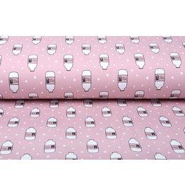 Stenzo Cotton Jersey Koeienmelk Roze