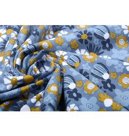 Stenzo Cotton Jersey Bloemen