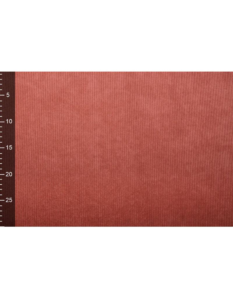 Cordstoff 8 W Rot Brique