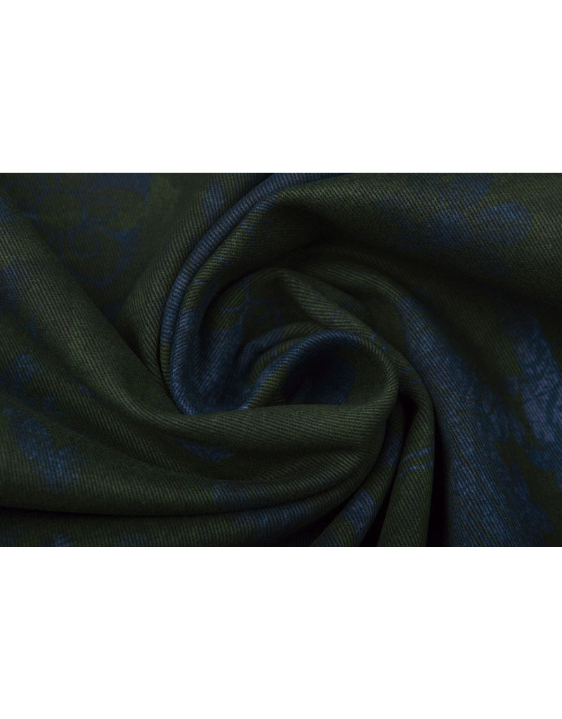 Baumwoll-Stretch Fusion Grün
