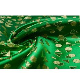 Brokat Derecha Grasgrün