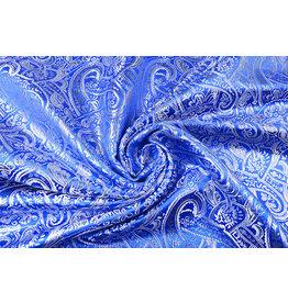 Brokat Sihir Swirl Kobaltblau