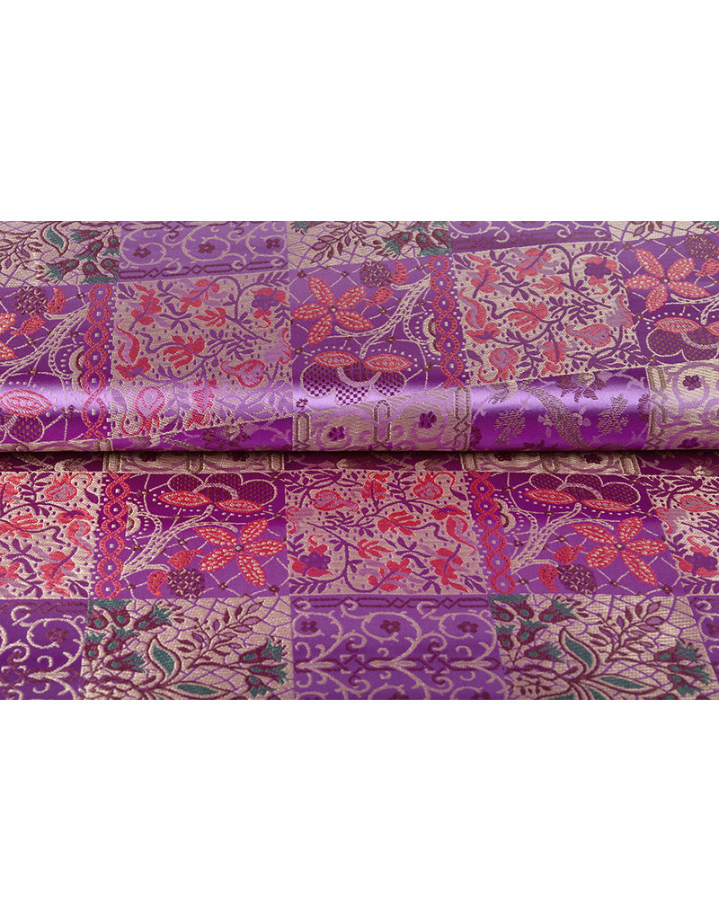 Brokat Indian Tile Lila