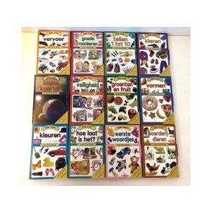 Kinder leer boekjes set 12 delig