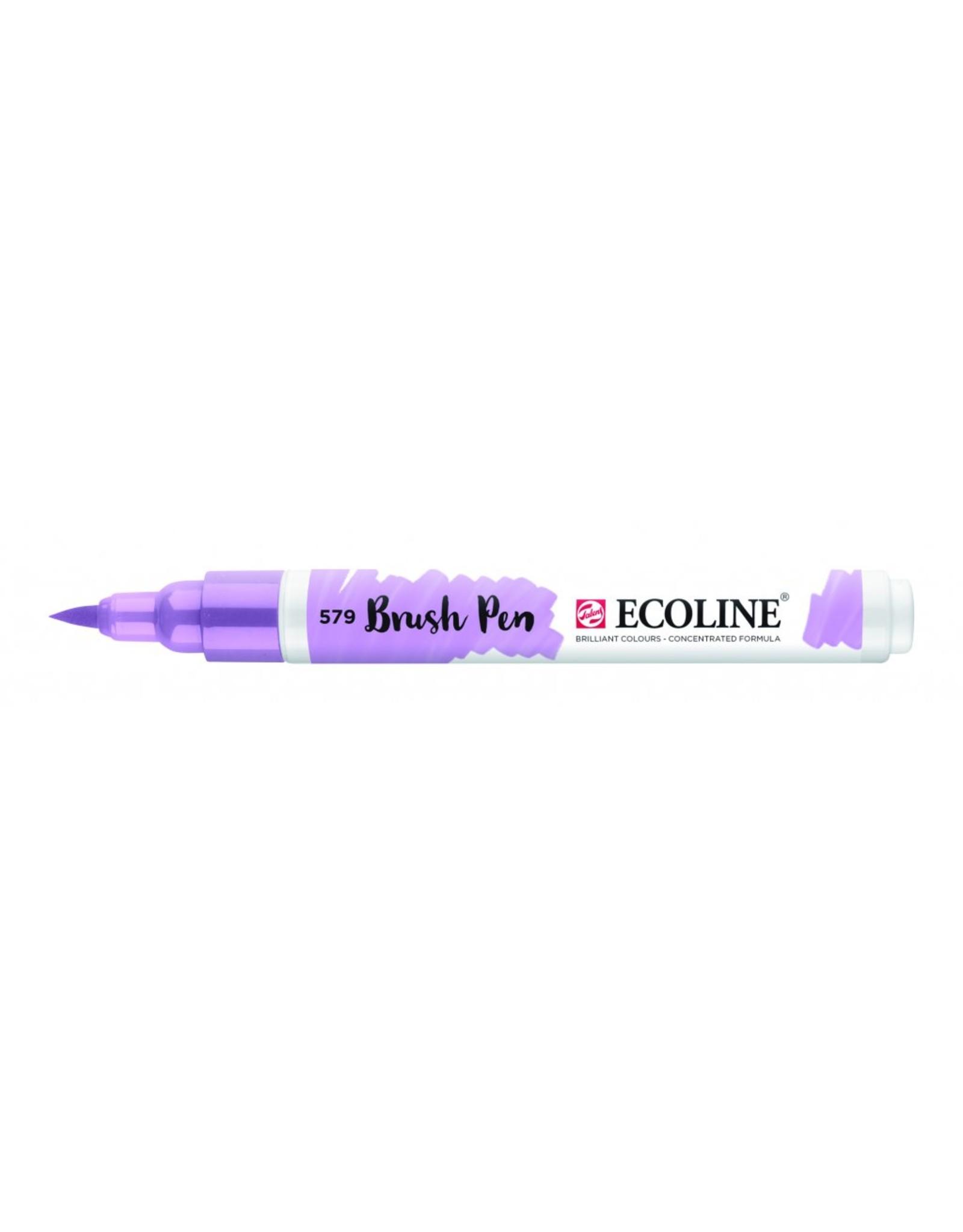 Talens Ecoline brushpen pastelviolet