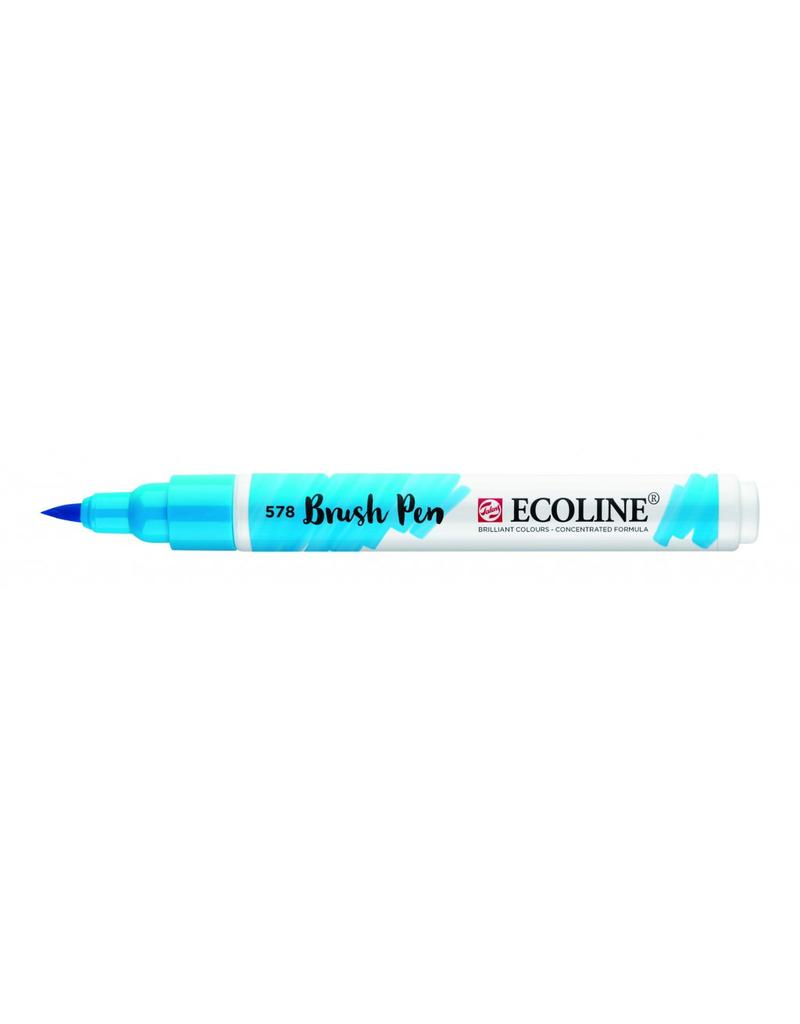 Talens Ecoline Brushpen Hemelsblauw
