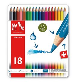 Caran d'Ache Fancolor box of 18