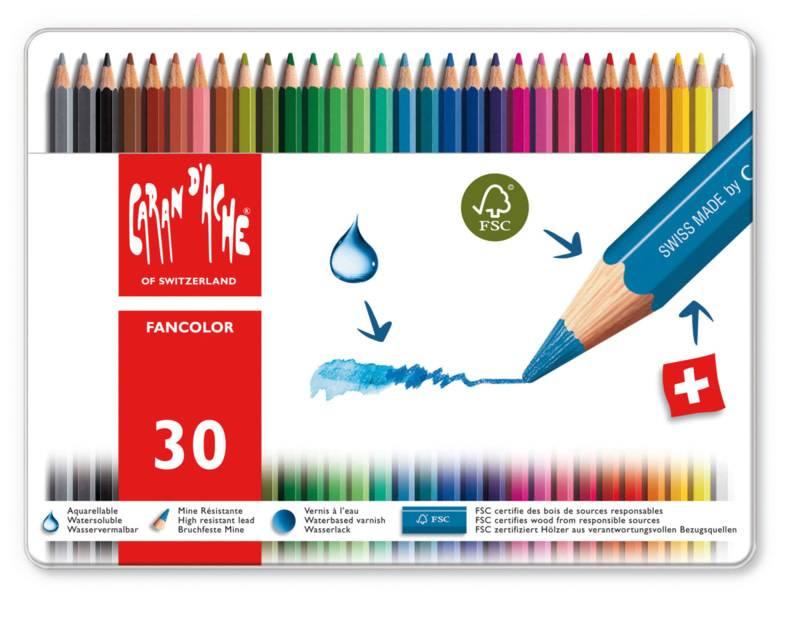 Caran d'Ache Fancolor doos 30