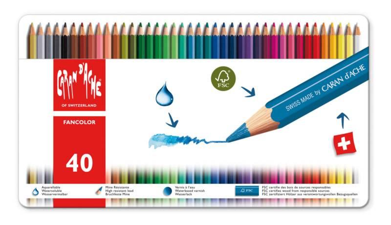 Caran d'Ache Fancolor doos 40