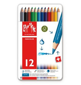 Caran d'Ache Fancolor box of 12