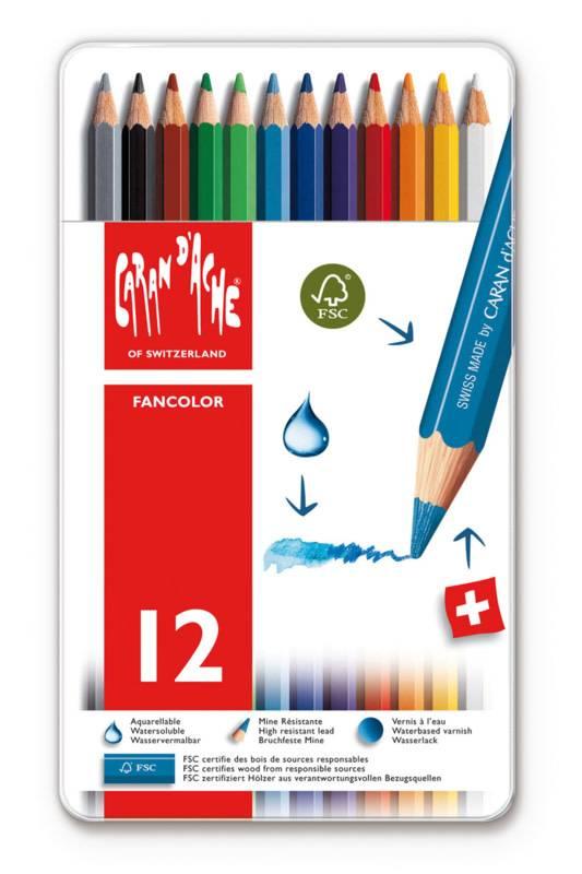 Caran d'Ache Fancolor doos 12