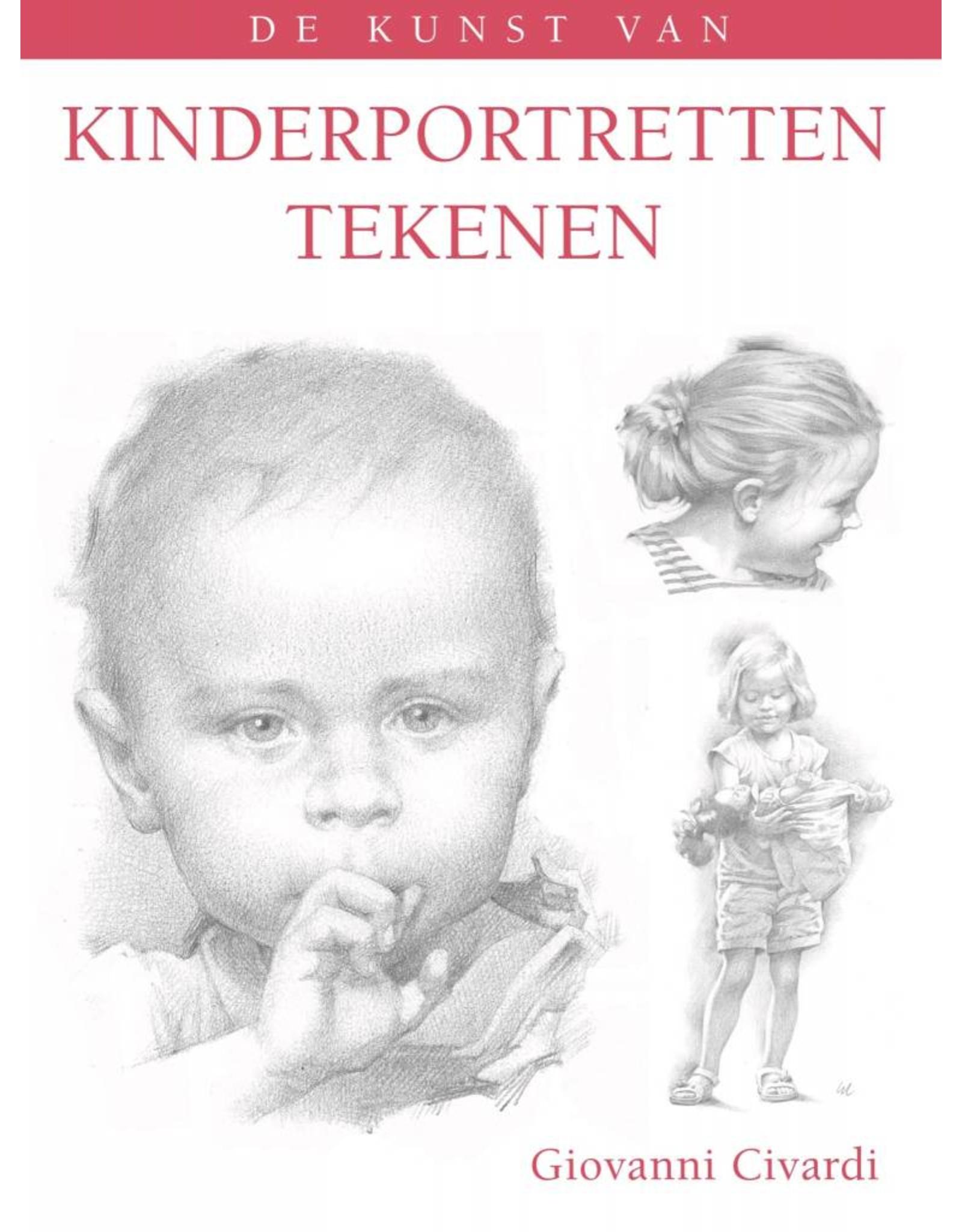 Kunst van kinderportretten tekenen