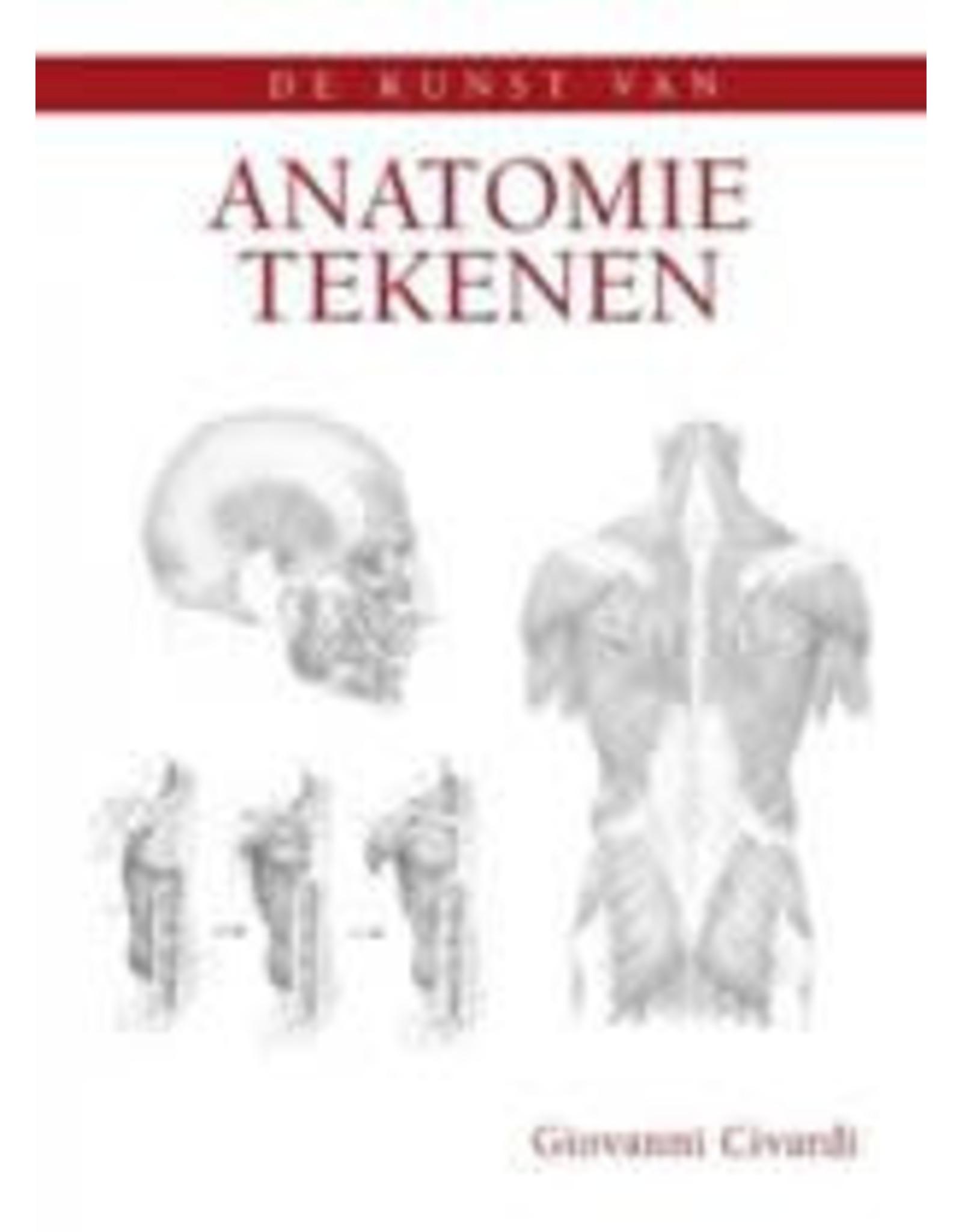 Kunst van anatomie tekenen