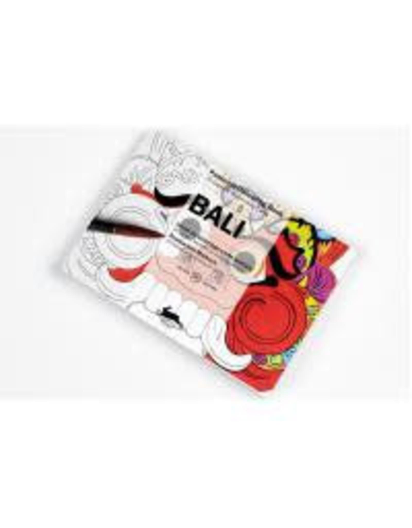 Postcard colouring book - Bali