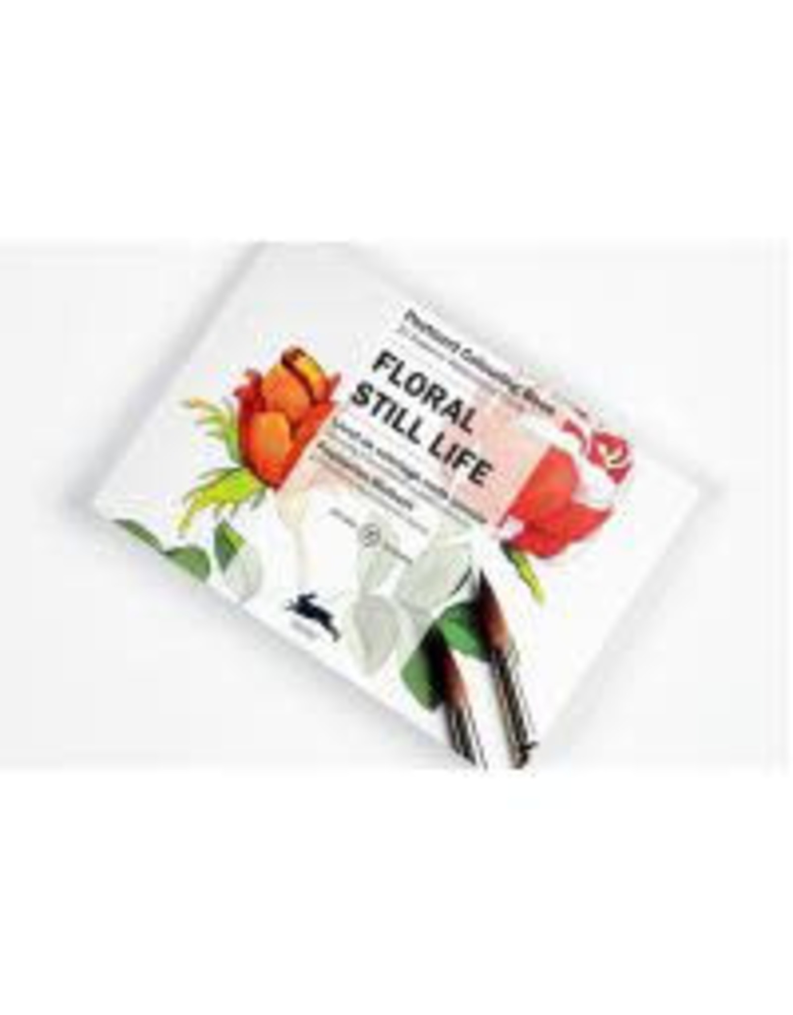 Postcard colouring book - Floral still life