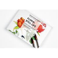 Postcard colouring book - Floral still life