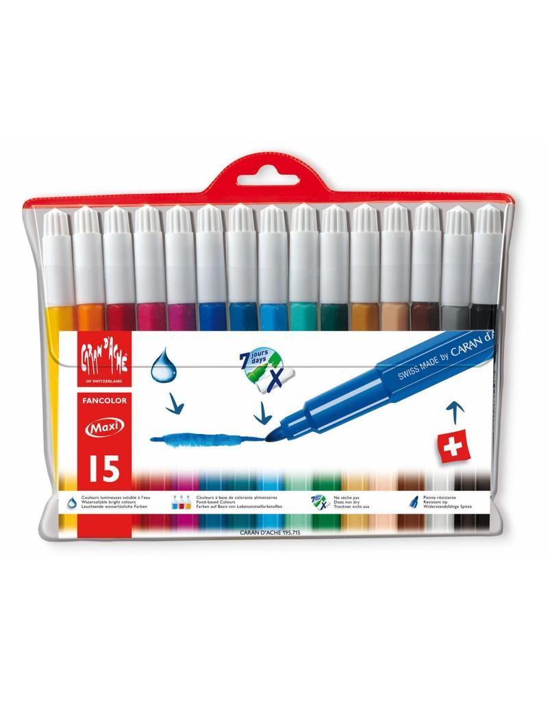 Caran d'Ache Fancolor maxi stiften 15
