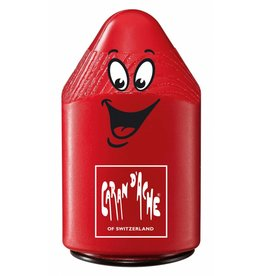 Caran d'Ache Double sharpener in plastic, red