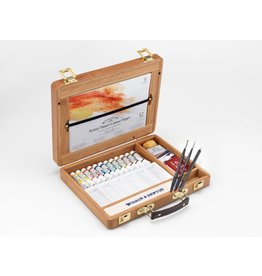 Winsor & Newton W&N bamboo box tube set