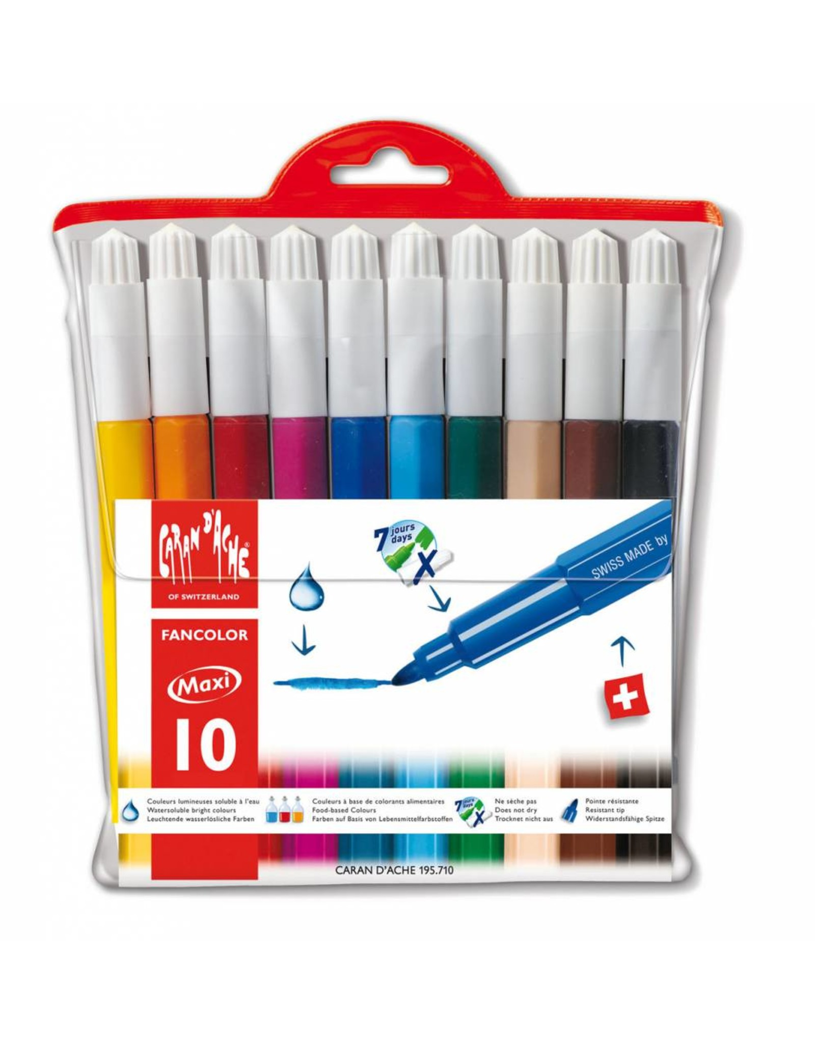 Caran d'Ache Fancolor maxi stiften 10