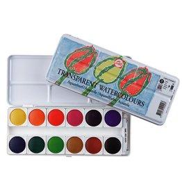 Talens Transparent watercolor paint set 12