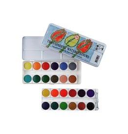 Talens Transparent watercolor paint set 24