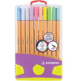 Stabilo pen 88 set 20