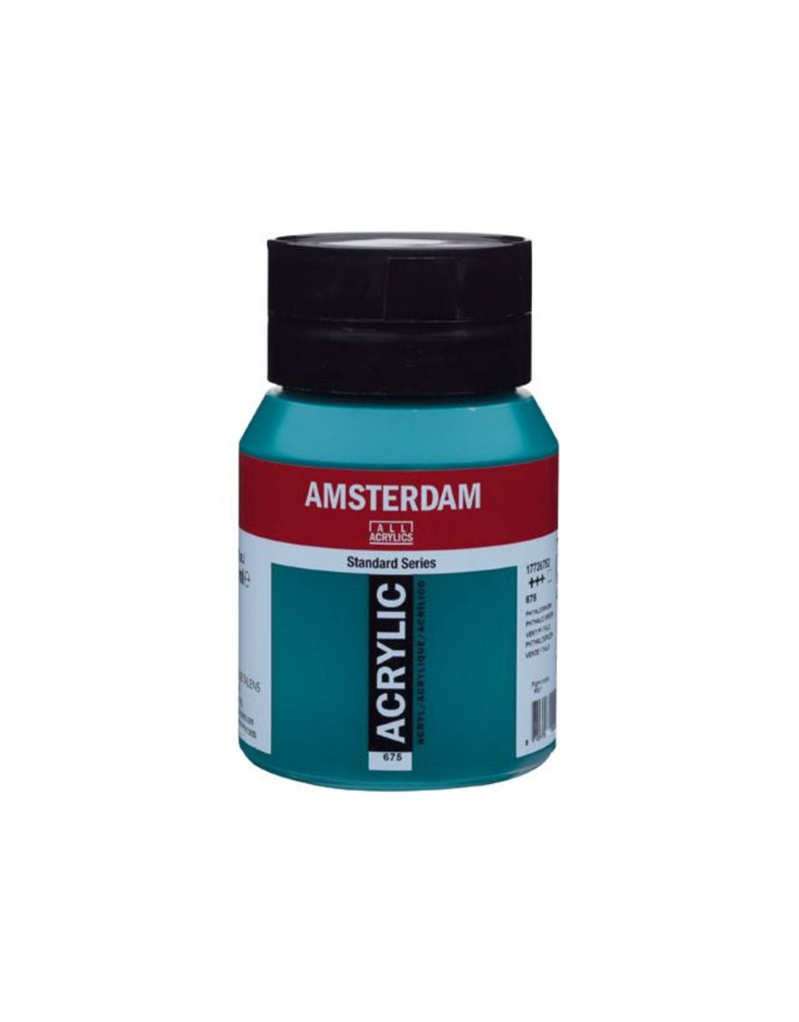 Talens Amsterdam acrylverf Phtalogroen 500ML