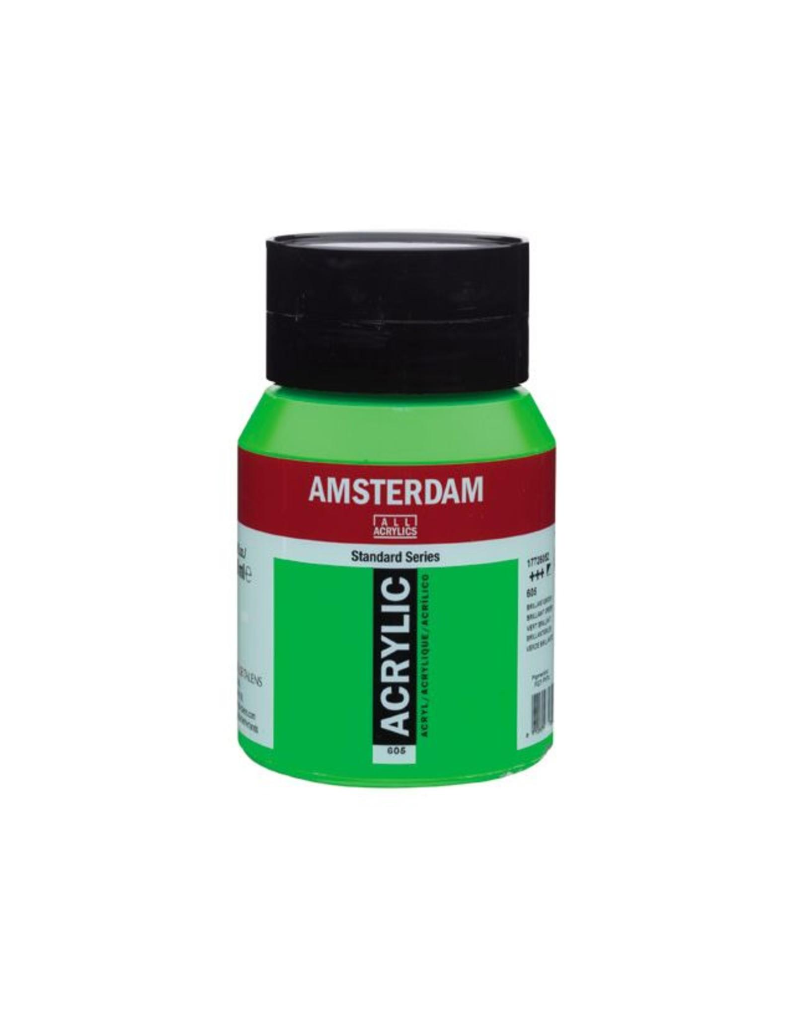 Talens Amsterdam acrylverf Briljantgroen 500ML