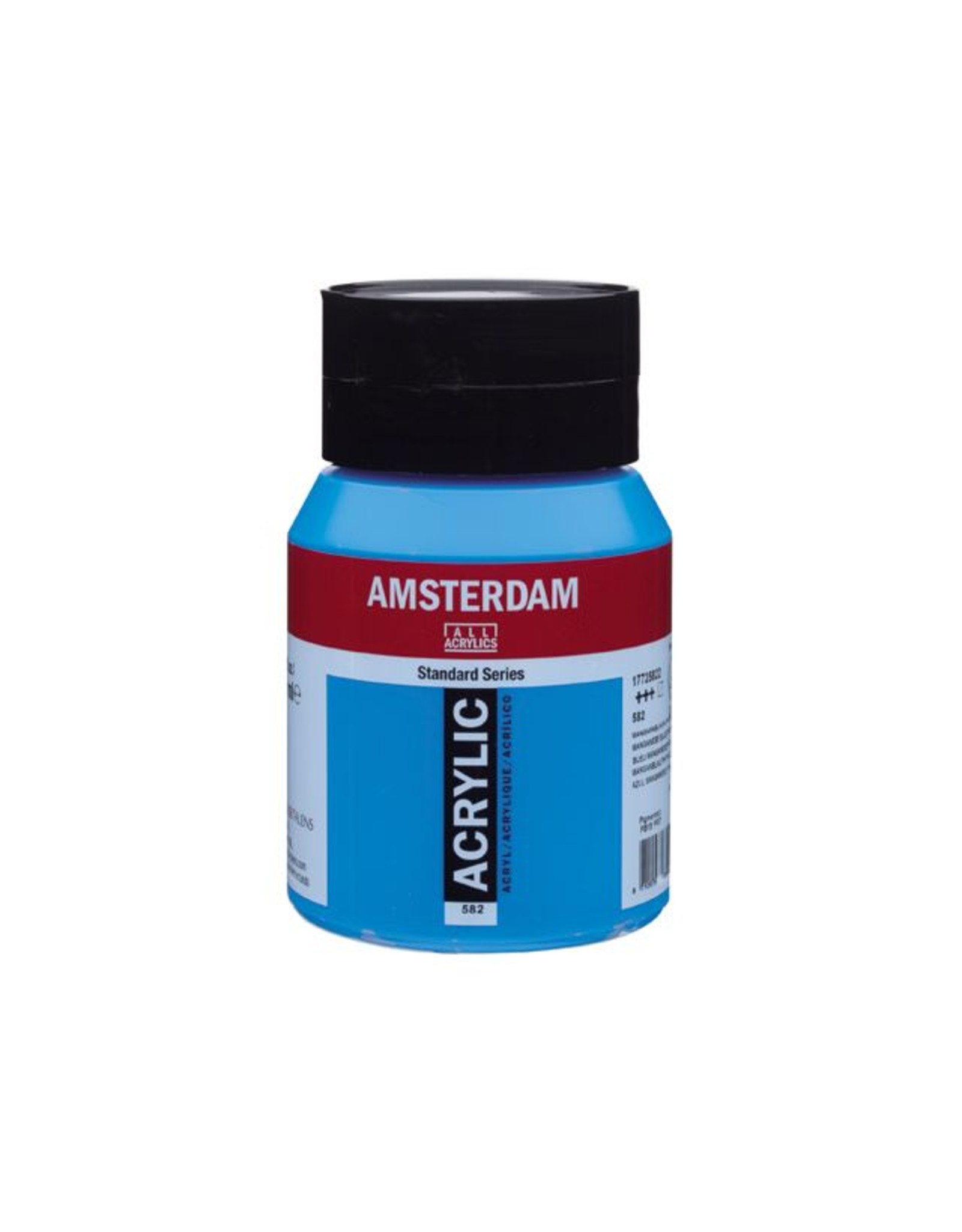 Talens Amsterdam acrylverf Mangaanblauw phtalo 500ML