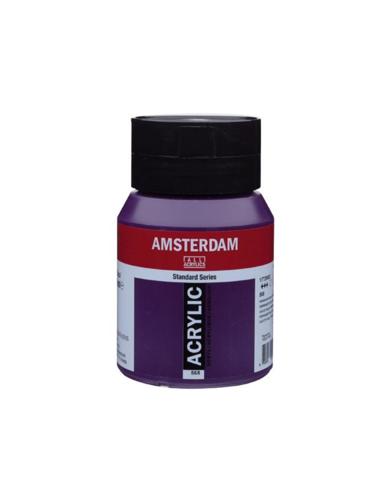Talens Amsterdam acrylverf Perm. blauwviolet 500ML