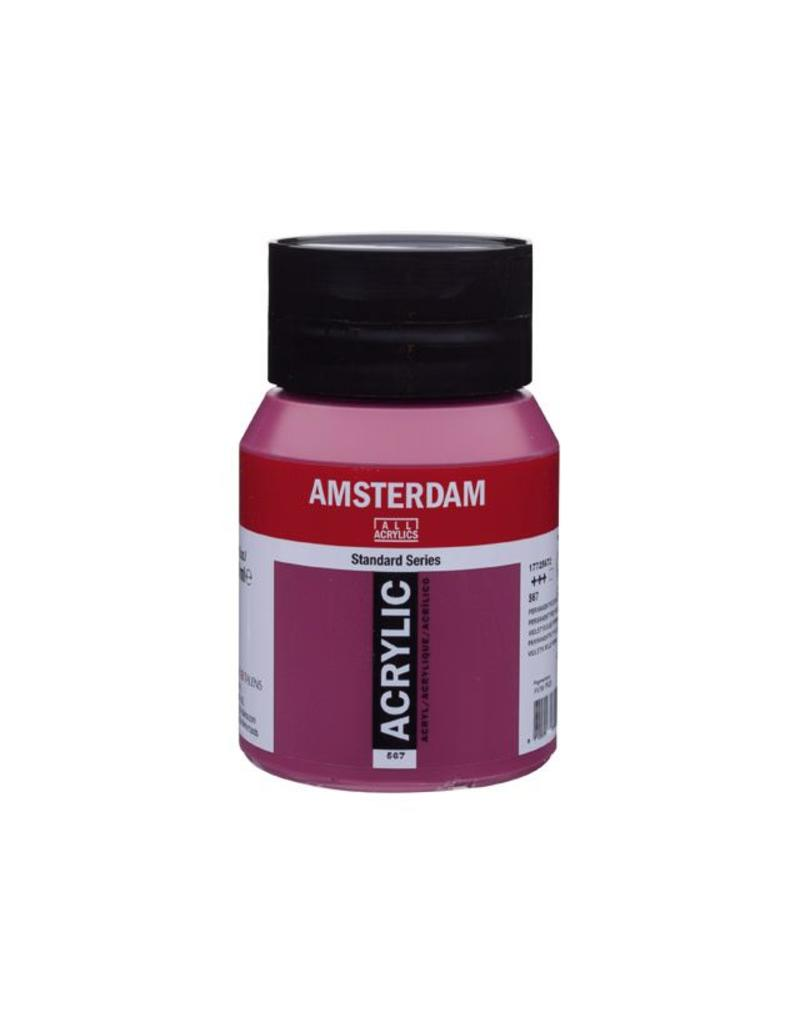 Talens Amsterdam acrylverf Perm. roodviolet 500ML