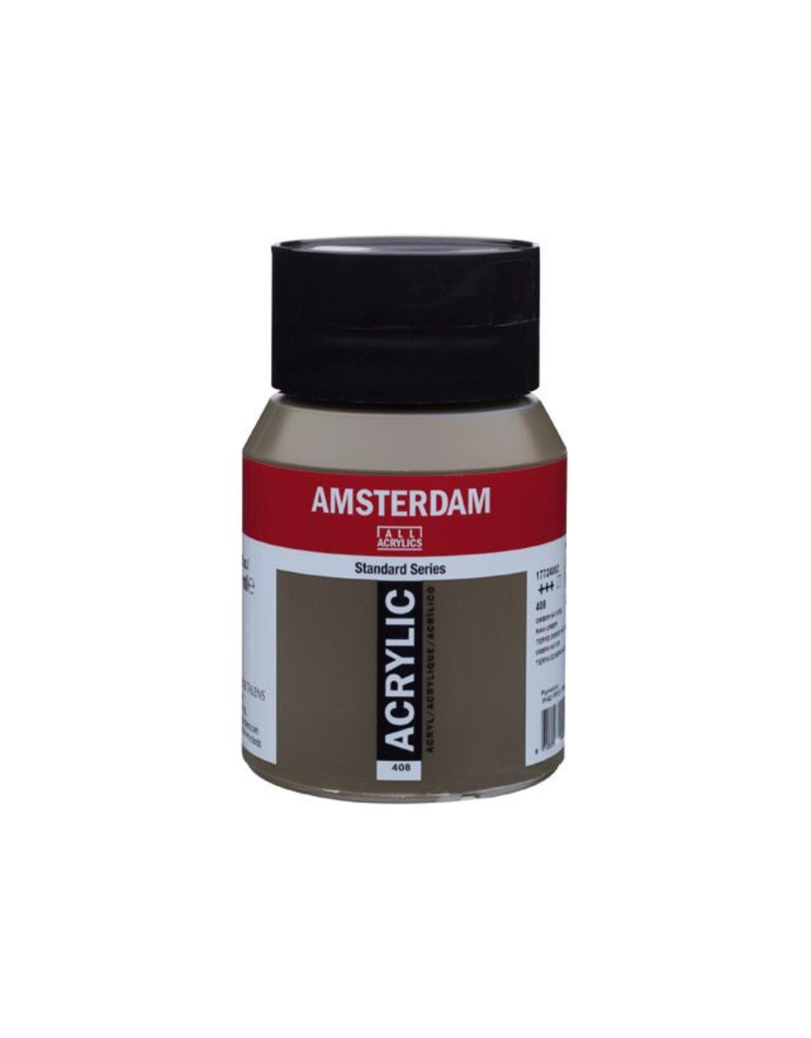 Talens Amsterdam acrylverf Omber naturel 500ML