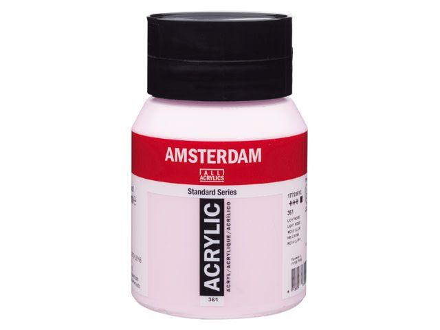 Talens Amsterdam acrylverf Lichtrose 500ML