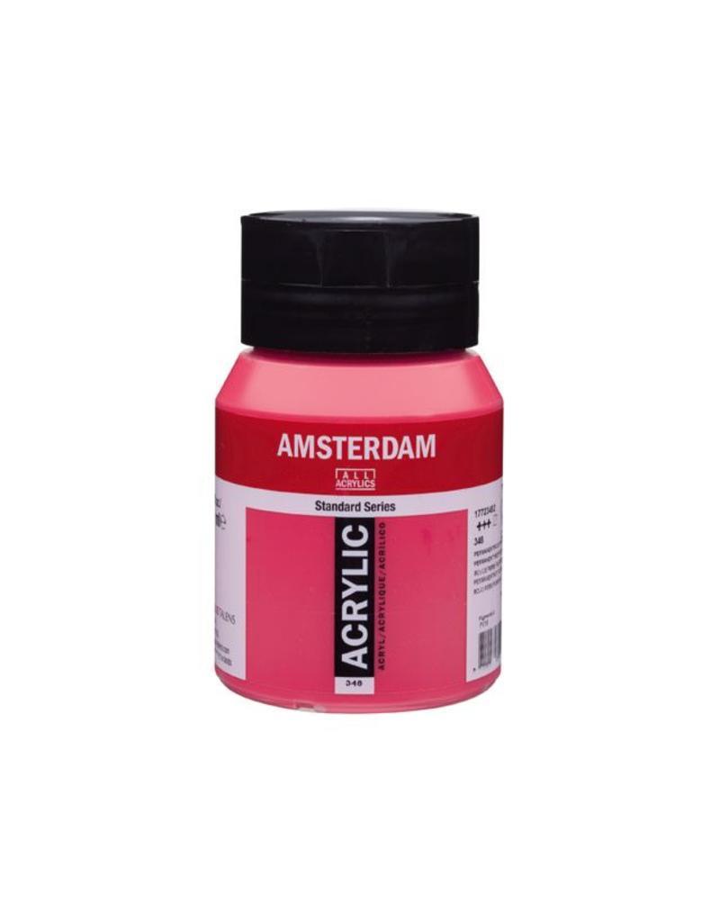 Talens Amsterdam acrylverf Perm. rood purper 500ML
