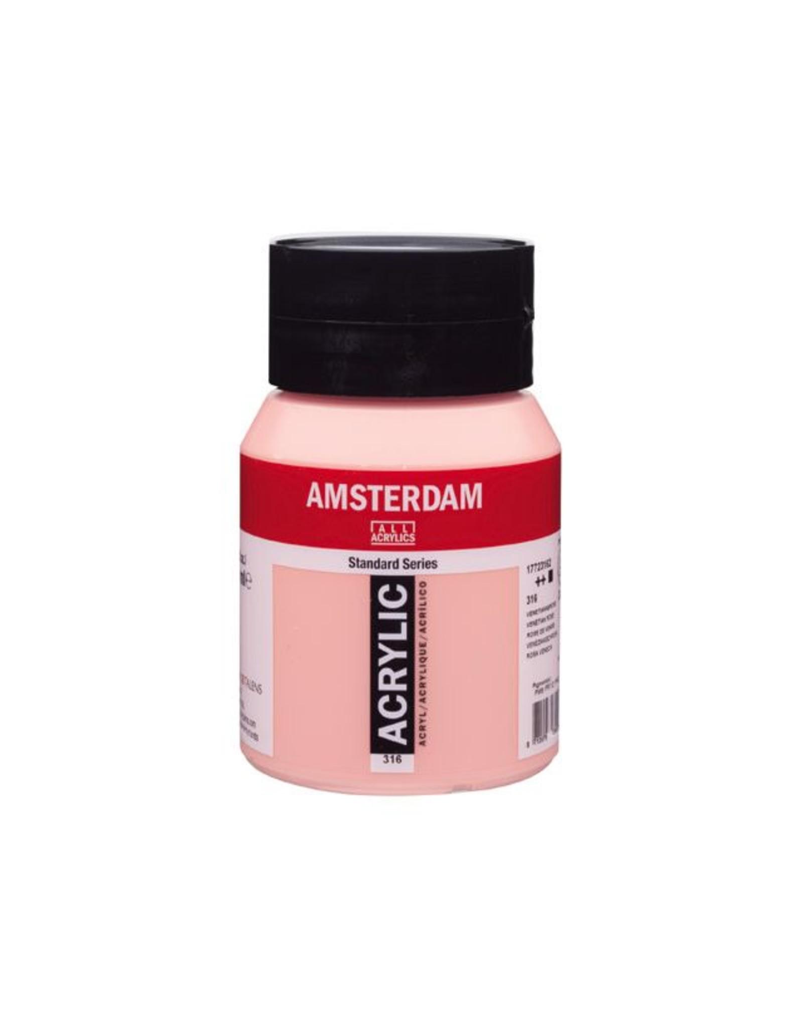 Talens Amsterdam acrylverf Venetiaansrose 500ML