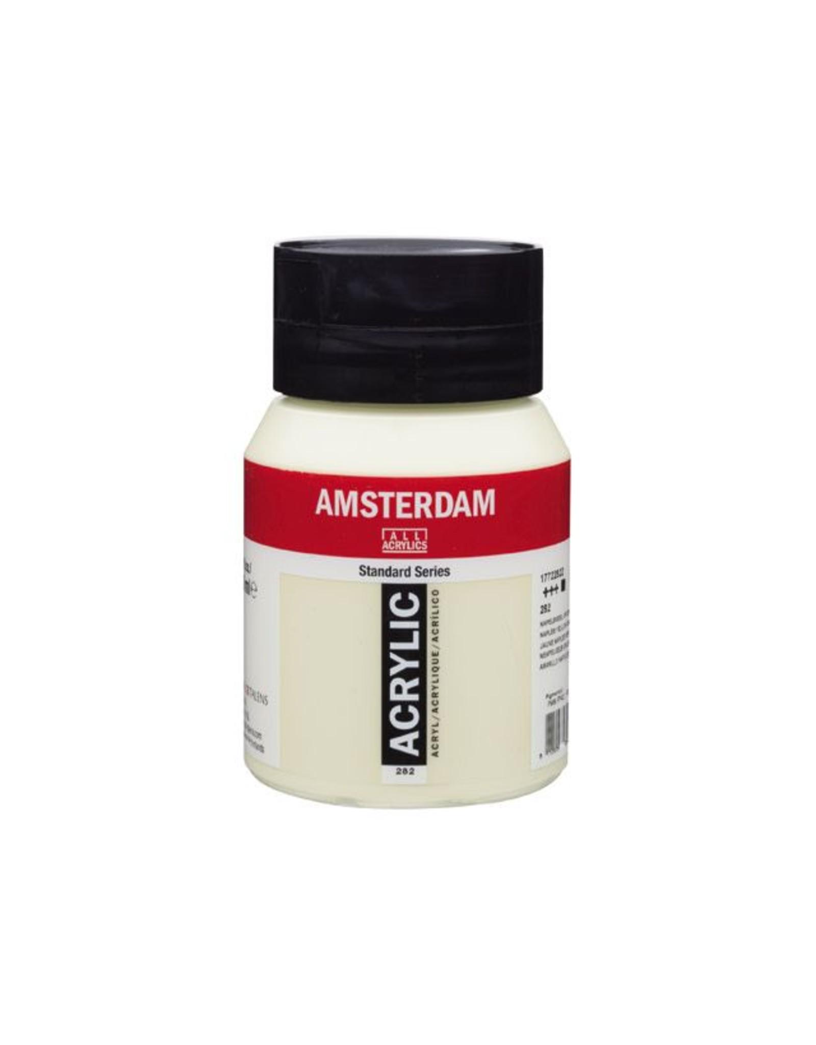 Talens Amsterdam acrylverf Napelsgeel groen 500ML
