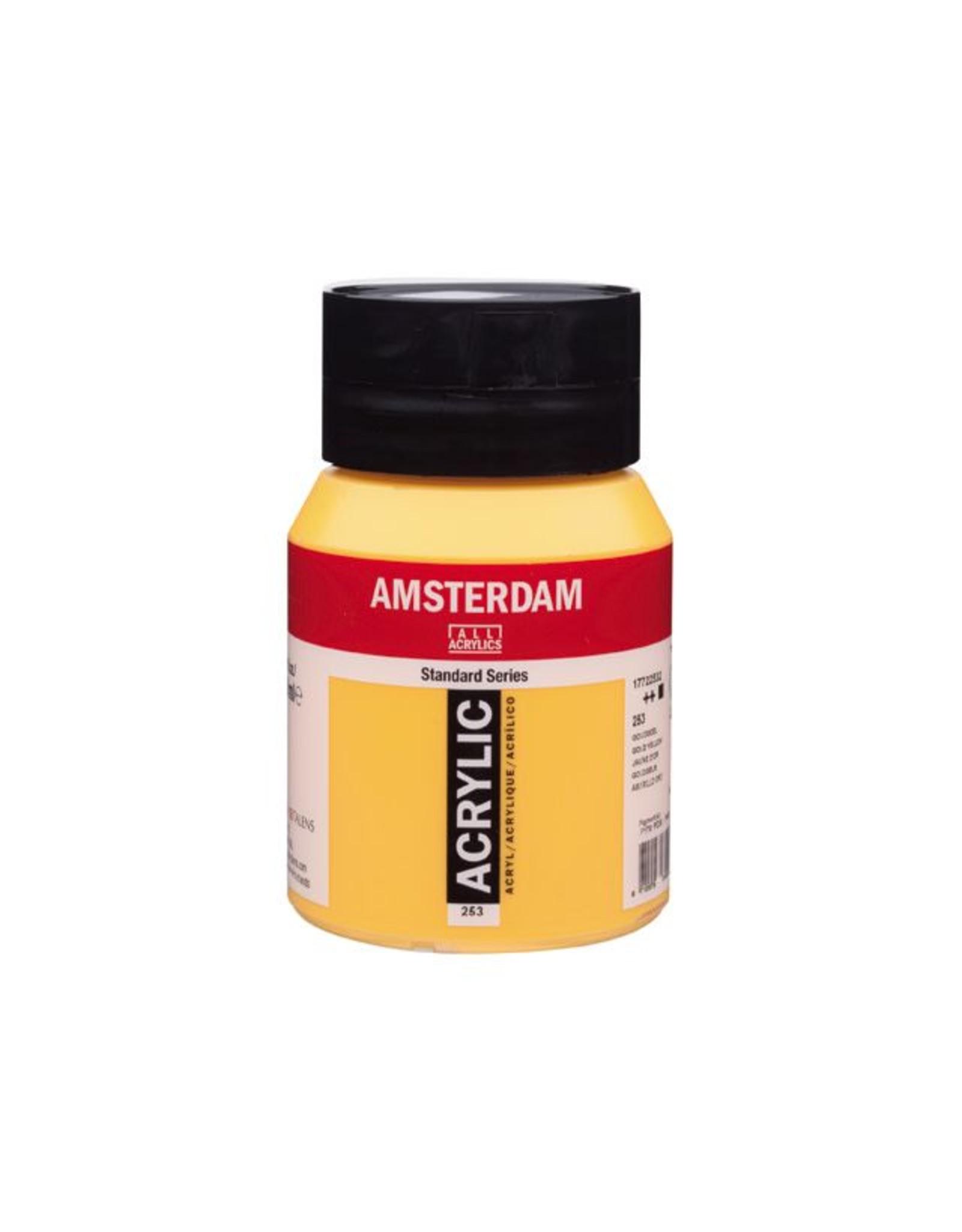 Talens Amsterdam acrylverf Goudgeel 500ML