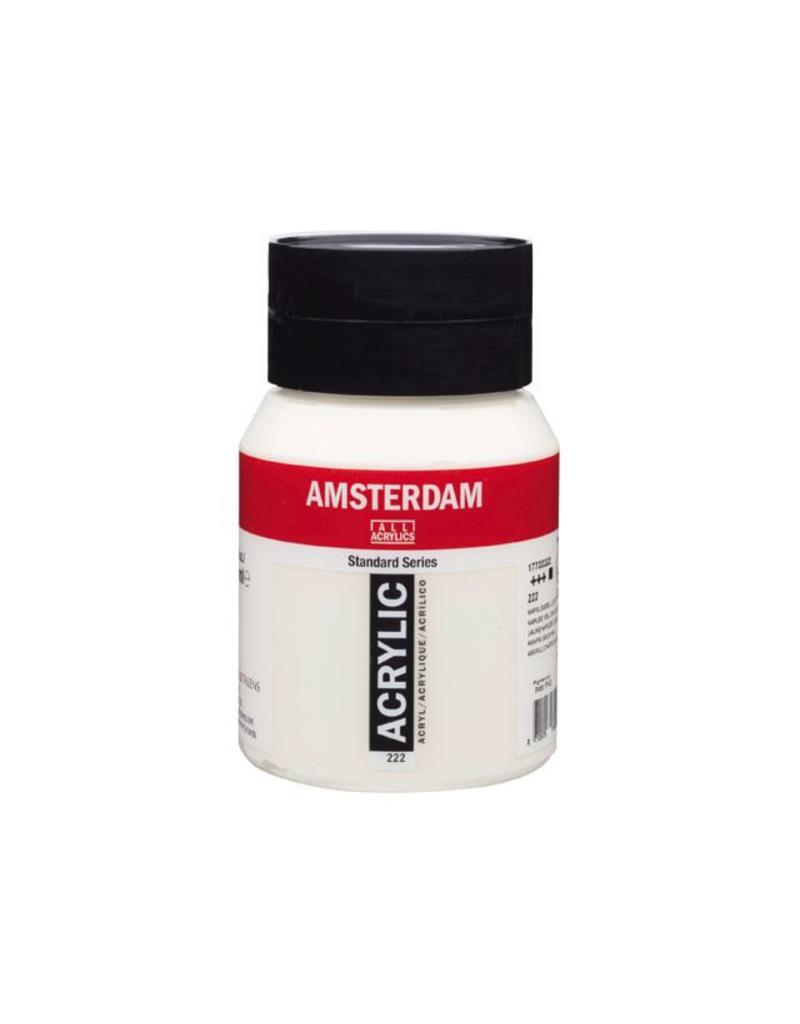 Talens Amsterdam acrylverf Napelsgeel licht 500ML
