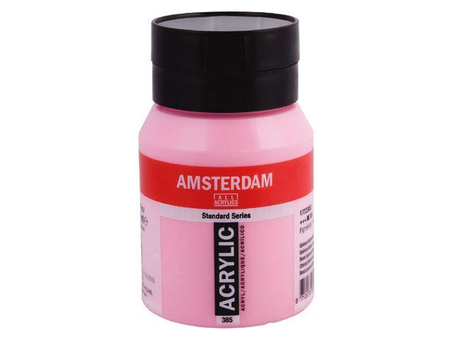 Talens Amsterdam acrylverf Quinacridonerose 500ML