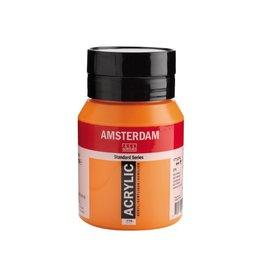 Talens Amsterdam acrylverf Azo-oranje 500ML