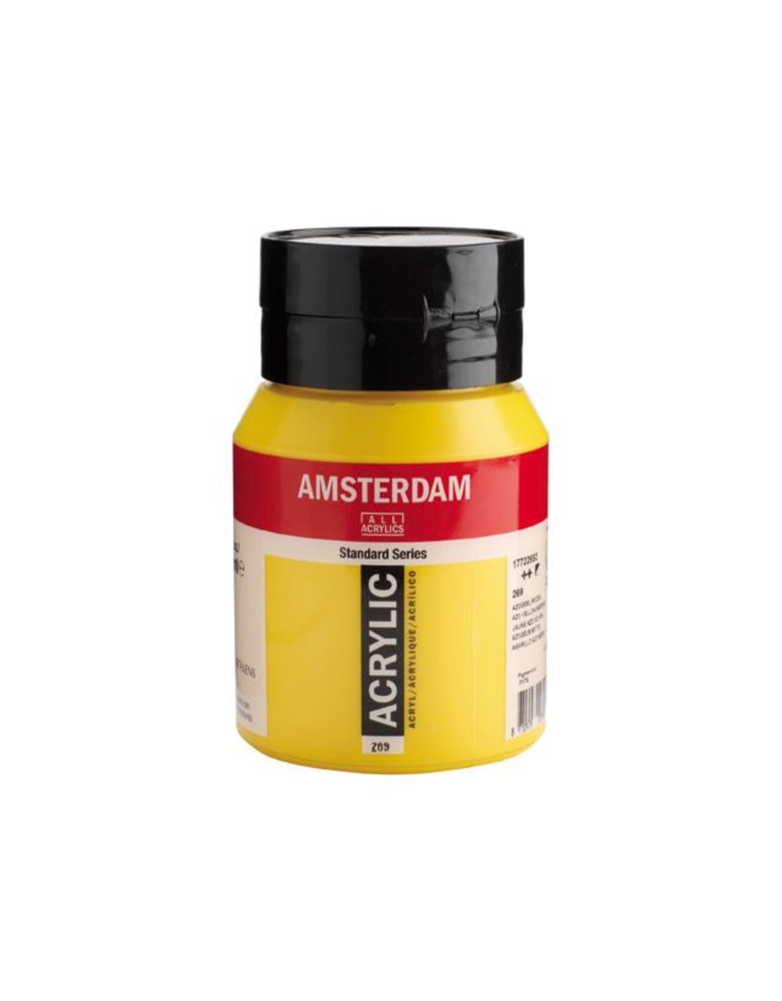 Talens Amsterdam acrylverf Azogeel middel 500ML
