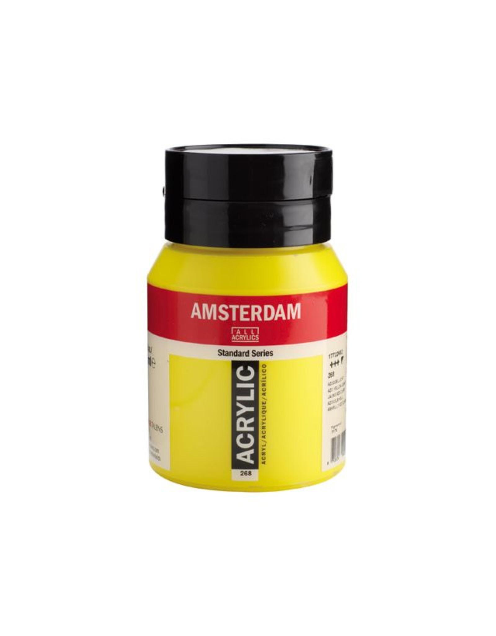 Talens Amsterdam acrylverf Azogeel licht 500ML