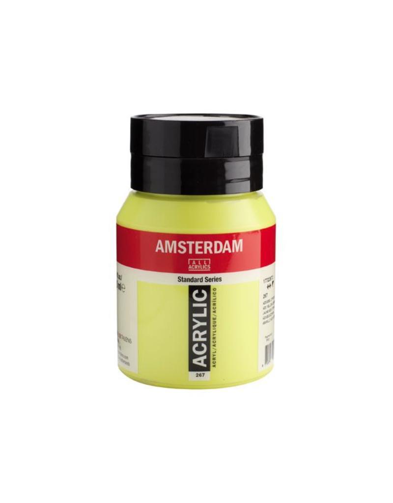 Talens Amsterdam acrylverf Azogeel citroen 500ML
