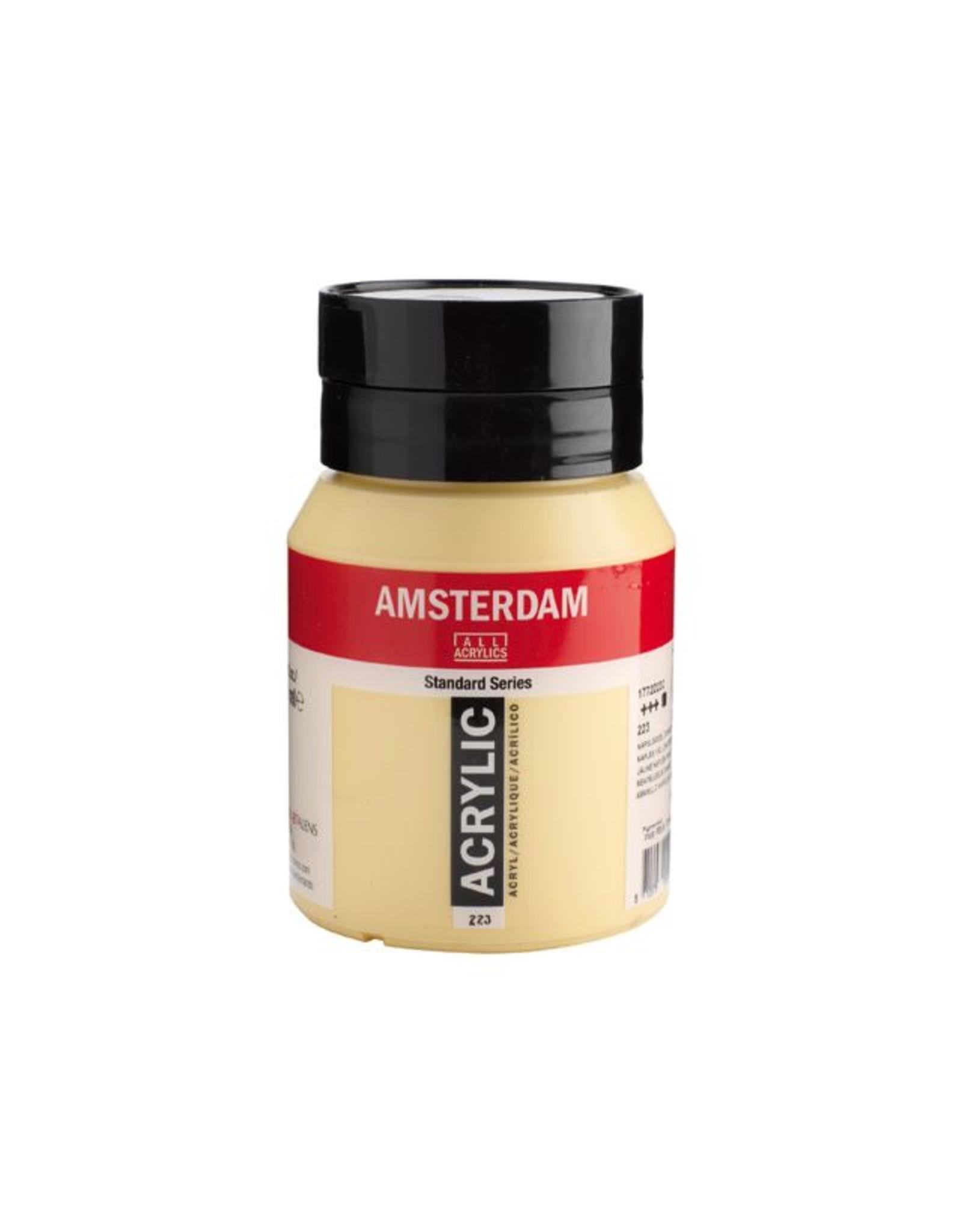 Talens Amsterdam acrylverf Napelsgeel donker 500ML