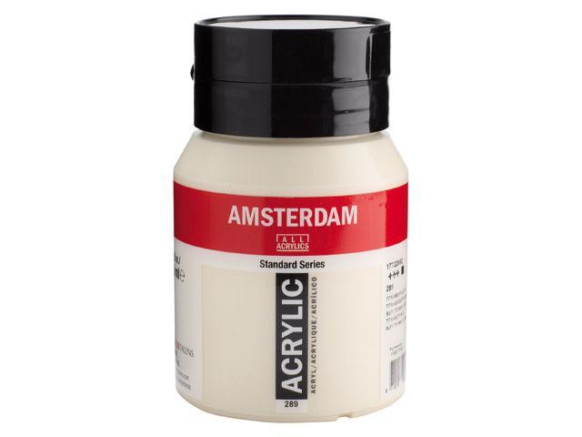 Talens Amsterdam acrylverf Titaanbuff licht 500ML